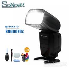 Shanny SN600FGZ P TTL GN60 1/8000S flash HSS para Pentax K100D K200D K 7 K x K r K 5 K 01 K 30 K 5 II K 5 IIs K 50 K 500 K 3 II