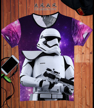 Hot Summer Top Star Wars Men T Shirts Darth Vader 3D Printed Tees Crew Neck Tshirts Casual Man Camiseta Short Sleeve S-3XL