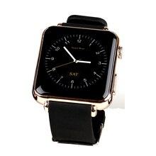 Heißen Männer Frauen Kamera Smart Watch Leder Gürtel Y6 Touchscreen Smartwatches Bluetooth Telefon Aktivität Tracker SIM-TF-KARTE