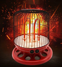 Hot sale heater electric heater large disc quartz red tube bird cage electric stove household energy saving roasting stove(China)