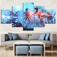 Game Battlefield 5 HD Print Painting Pieces Canvas Artwork Paintings on Wall Art for Home Decorations