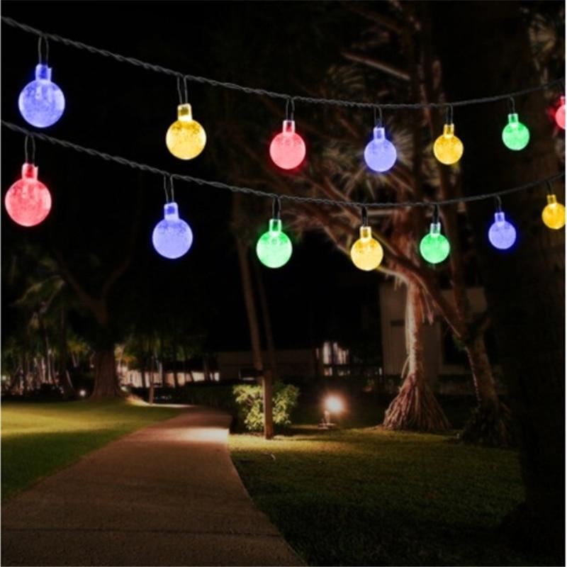 cheapest 22M 200LED Solar Powered Fairy Lights Christmas Street Garland Led String Strip Light Outdoor Waterproof for Garden Wedding Lamp