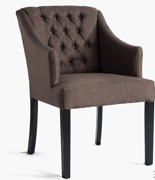 High Quality 100 Cotton With Armrest Sofa High Quality Oak Chair Coffee