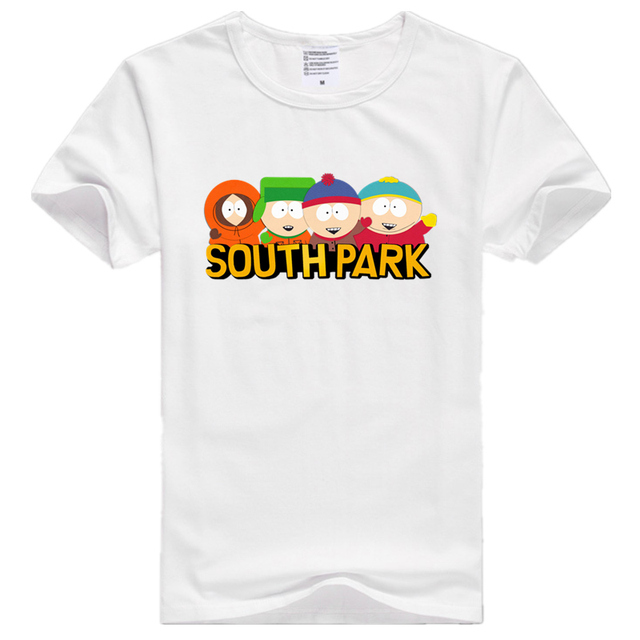 Asian Size Men And Women Print South Park Cartoon Who Is The Coon T-shirt O-Neck Short Sleeve Polyester T-shirt HCP707 3