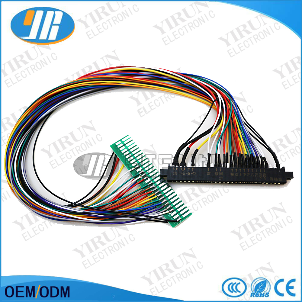 US $16.99 |Full 56 pin 100cm Jamma Extender harness for arcade game on warping a 4 harness loom, electric harness for loom, wiring loom sleeve,