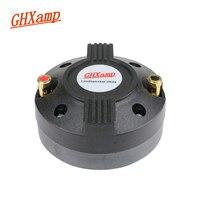 GHXAMP 34.4mm 34 Core Horn Tweeter Speaker Drive 8Ohm 40W Magnet 90*15MM Stage Treble Speaker Head with Thread Titanium Film 1PC