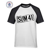 Hot Sale Mix Color Clothes Casual Your Own Sum 41 Motion Fat Lip Funny T Shirt