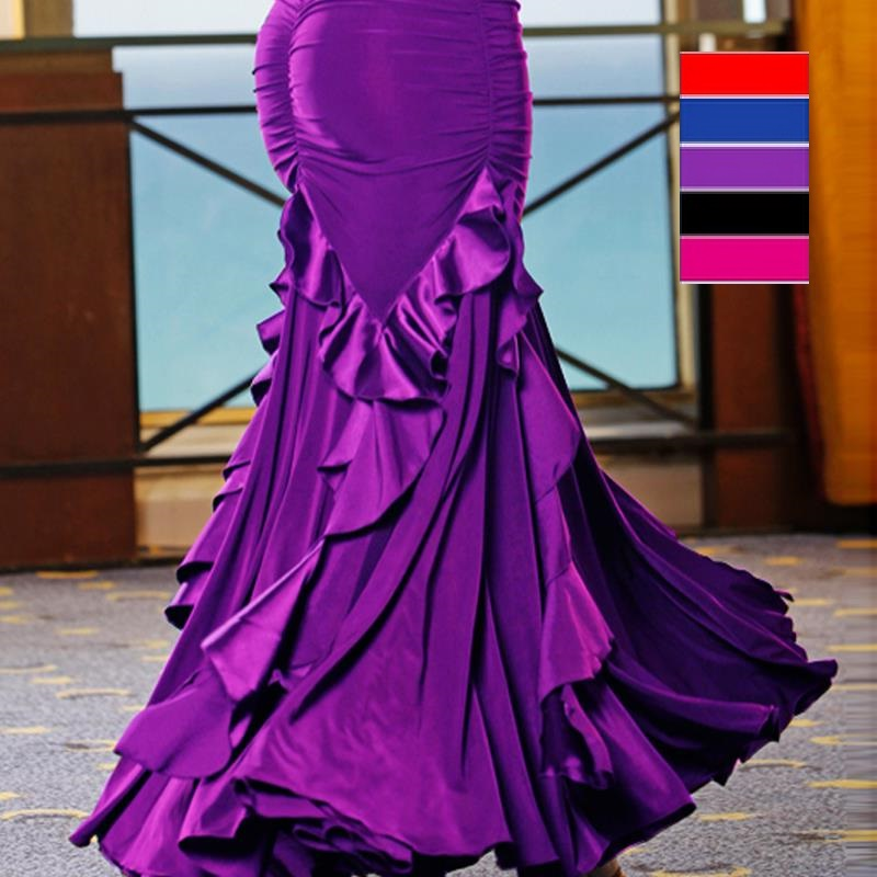 Mujeres flamenco faldas para mujeres falda para niñas niño traje ...