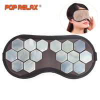 POP RELAX Natural Jade Eye Mask For Sleeping On Airplane Physiotherapy Traveling Portable Patch Health Care Facial Face Mask