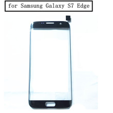 10pcs/lot for Samsung Galaxy S7 Edge G935F G935 Touch Screen Touch Panel Front Glass Cover Front Outer Glass Lens Repair Parts