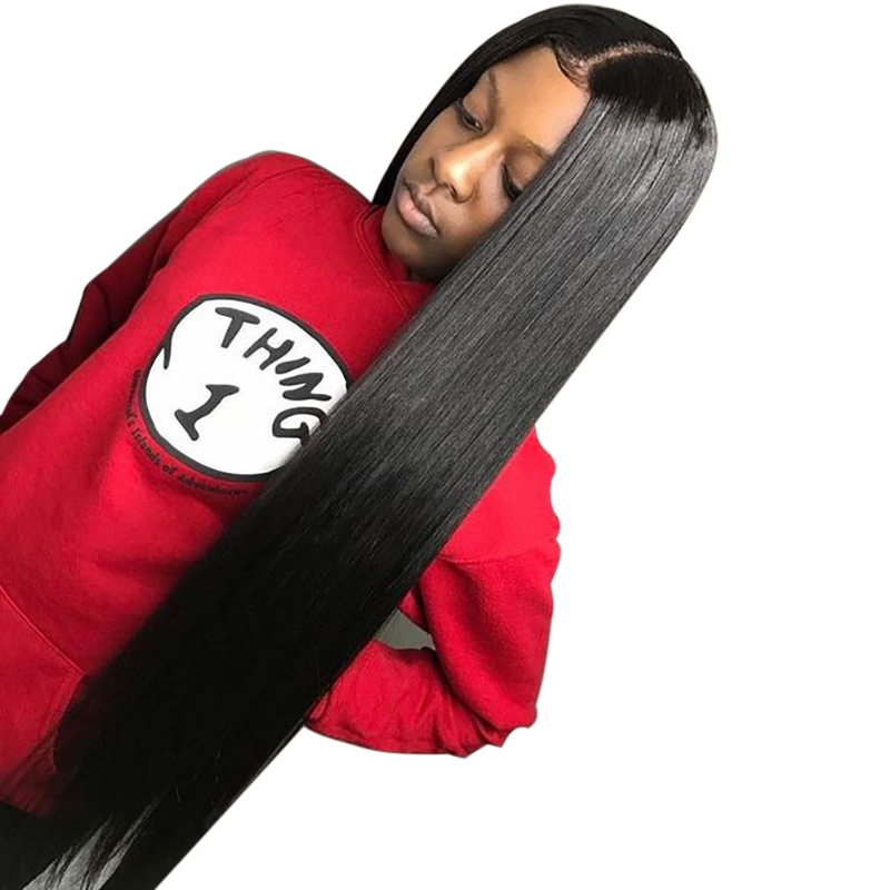 Straight Lace Front Wig 28 Inch Cheap Human Hair Wigs Brazilian Remy Hair 13x6 Wig For