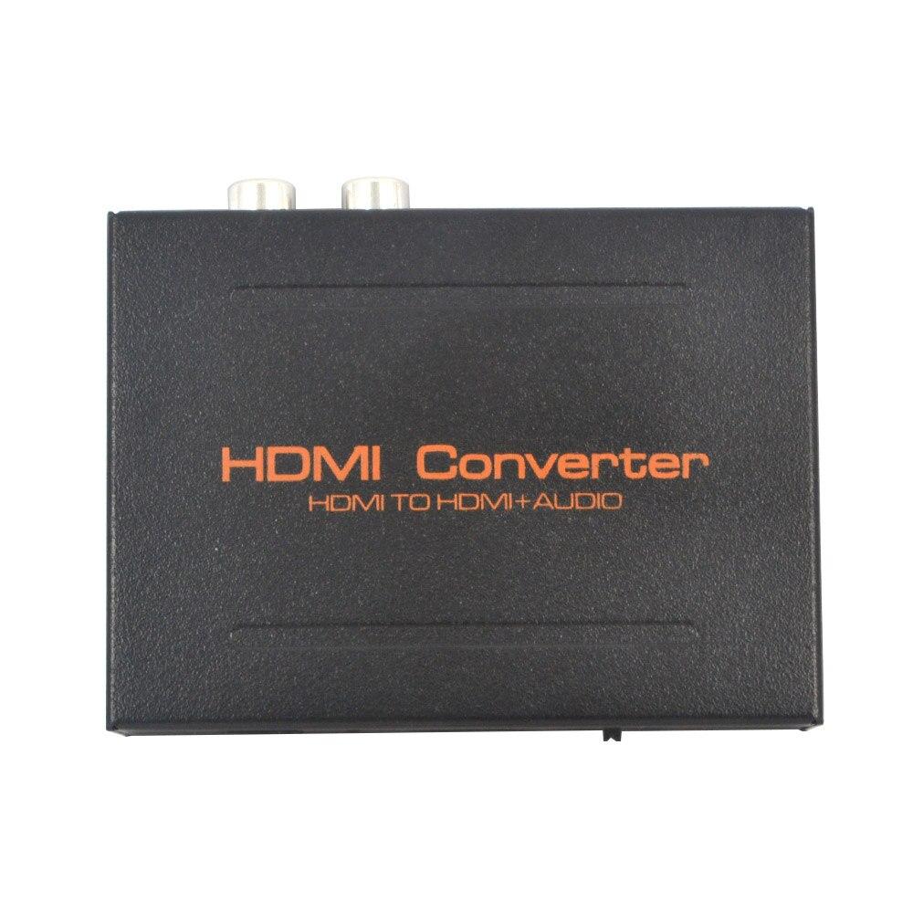 imágenes para 1080 P HDMI a HDMI SPDIF Óptico Suppport 5.1 + RCA L/R Audio Video Extractor Adaptador Convertidor Del Divisor