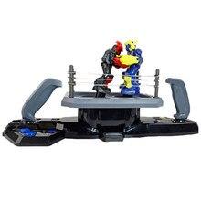 Вызов против 88300 Интеллектуальный Пульт дистанционного Управления робот игрушка стерео двойной бокса боевые родитель-ребенок игра