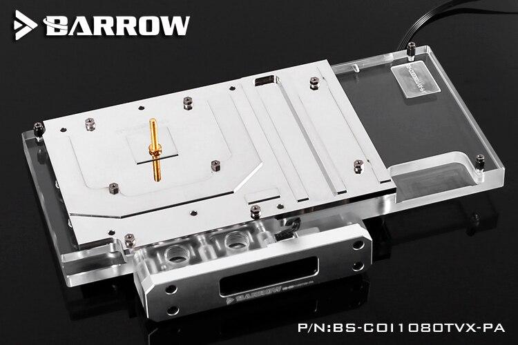 Купить с кэшбэком BARROW Full Cover Graphics Card Block use for Colorful iGame GTX1080Ti Vulcan X OC/SOC GPU Radiator Block LRC RGB