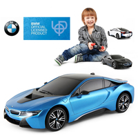 Rastar BMW RC Car 1:18 Original i8 Remote Control Toys Radio Control Car Machines Model Electric Car Toys for Boys Birthday Gift