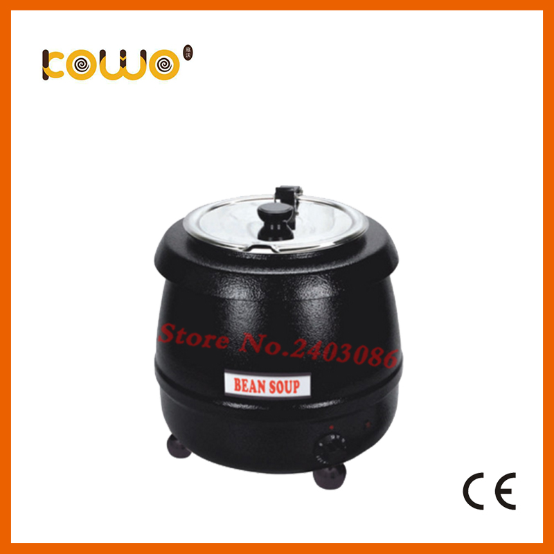 10l round kitchen electric food warmer stainless steel buffet soup kettle catering bain marie food display warmer food processor