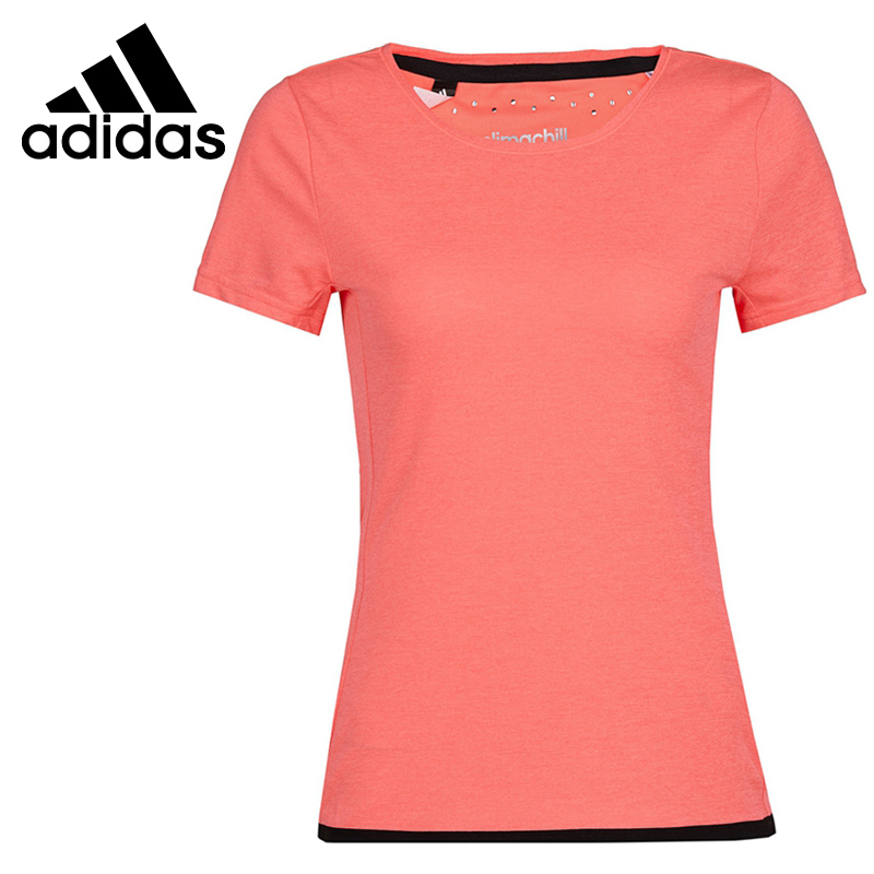 ФОТО Original Adidas Climachill Women's Short Sleeve T-shirts Sportswear