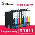 T1811 картридж для принтера Epson T1811 T1812 T1813 T1814 чернильные картриджи для XP212 XP215 XP225 XP312 XP315 XP412 XP415 принтеры