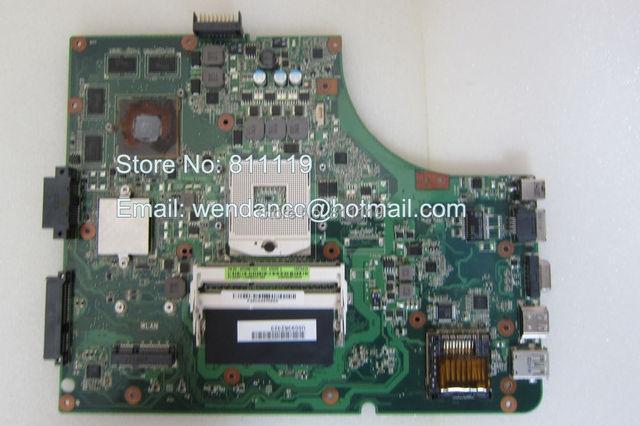 NOVO não-integrado com 8 chipsets vga laptop motherboard para motherboard K53SV Rev: 2.3 69N0KDM15D02 N3GMB1500-D02