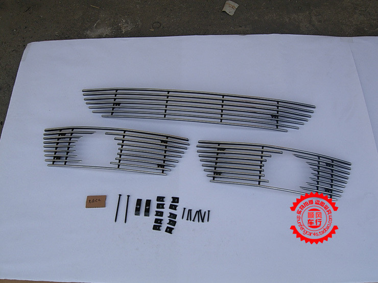 High quality stainless steel Front Grille Around Trim Racing Grills Trim For 2009-2012 Volkswagen PASSAT CC
