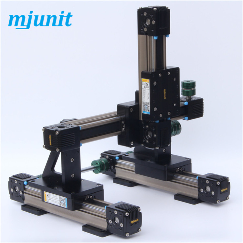 factory price spindle linear lineal line rail cnc cutting plotter Mechanical linear unit with belt drive for higher moments. toothed belt drive motorized stepper motor precision guide rail manufacturer guideway