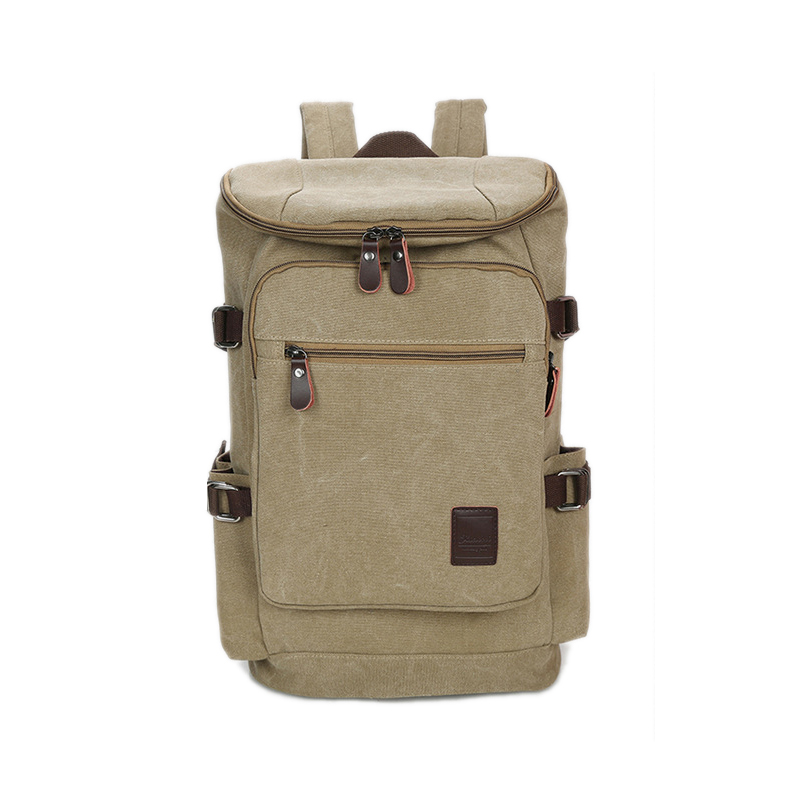 Classic Vintage Design Backpack For Men High Quality Waterproof Canvas Back Pack Mens High Capacity Travel Laptop Backpack