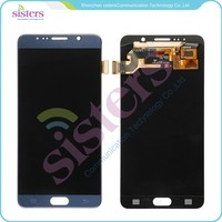Wholesale Blue White Gold LCD Display And Touch Screen Digitizer Full Assembly For Samsung Galaxy Note 5 N9200 Free Shipping