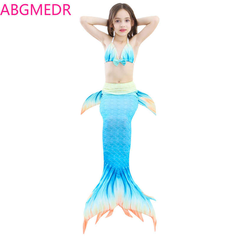 d9eeac3947296 Detail Feedback Questions about Little Mermaid Swimwear Girls Swimming  Clothes Kids Swimwear Girls Swim Teenage Girls Swimwear Girls Baithing Suit  Three ...