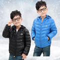 2015 New Free shipping Boy and Girl's Down Coat Children's Winter Down Jackets Baby Down Coat Kids Thickening Outerwear Retail
