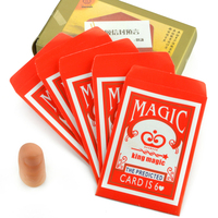 Envelop Prediction Magic Tricks Free Shipping Magia Trick Toy Easy Close Up Magie
