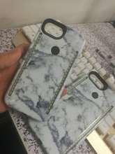 Ретро Мрамор узор Теплый Белый Свет двусторонняя LED телефона чехол для iPhone 6 6 S 7 плюс световой селфи Чехлы твердый переплет
