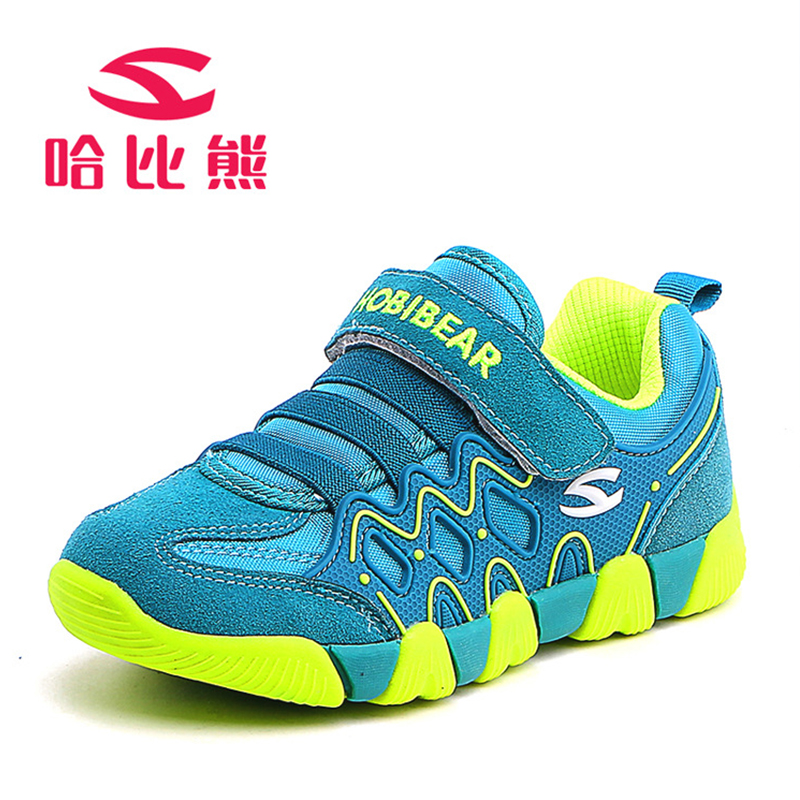 Genuine Leather Shoes Children Sneakers Kids Boys And Girls Fashion Outdoor Breathable Casual Sports Shoes Kids Running Sneakers