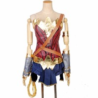 2018 Wonder Woman Costume Halloween costumes for adult custom made Justice League Wonder Woman Cosplay Costume superhero suit
