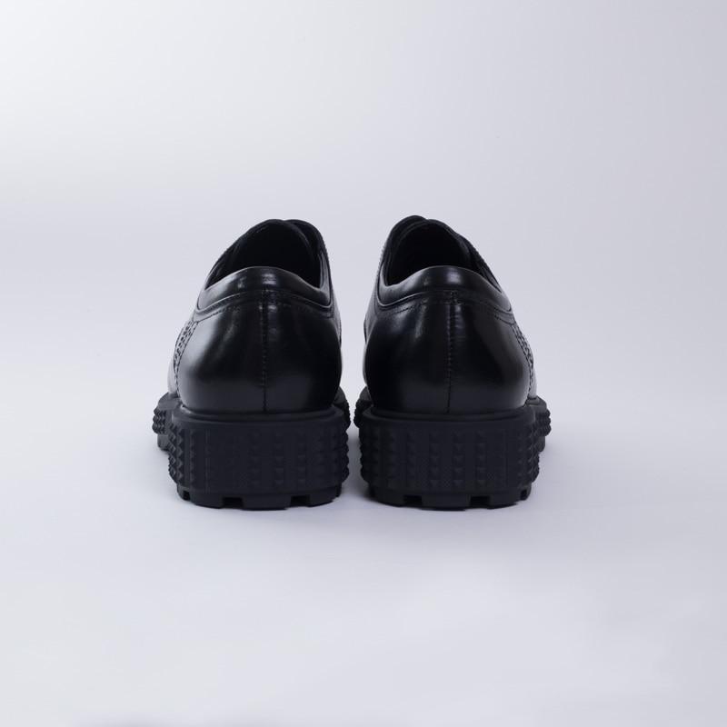 Cuero Grano Los Respirable Negocio Completo Nuevo De Negro E883 Zapato Diseño Del Real Eioupi Italiano Zapatos Formales Estilo RfxYwnBq