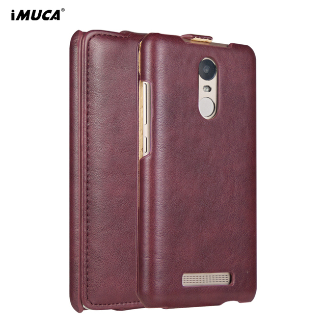 For Xiaomi Redmi Note 3 Pro Case Cover Leather Flip Case For Xiaomi Redmi Note 3 Pro Case Prime iMUCA Wallet Phone Bag Cases