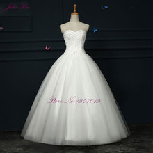 JULIA KUI Strapless Ball Gown Wedding Dress Bridal Gown