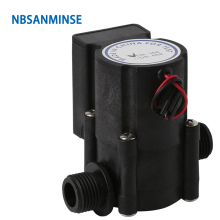 NBSANMINSE G1/2 inch Water flow generator PPA6 SMB668 SMB368 for water heaters, Induction clean,water dispenser