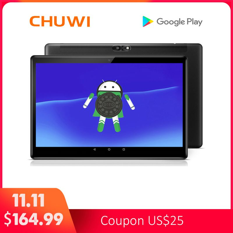 Original CHUWI Hi9 Air Tablet PC MT6797 X20 Deca Core Android 8.0 4GB RAM 64GB ROM 2K Screen Dual 4G Tablet 10.1 Inch 8000MAH chuwi original hi9 pro tablet pc deca core mt6797 x20 3gb ram 32gb rom android 8 0 8 1 2k screen dual 4g tablet 8 4 inch
