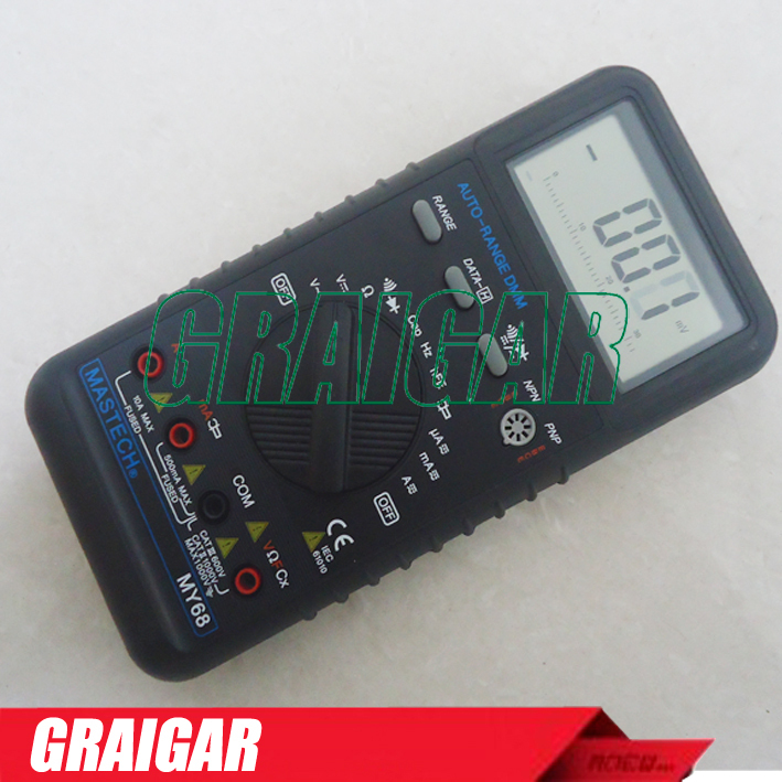 ФОТО MASTECH MY68 33/4 AUTORANGE DIGITAL MULTIMETER