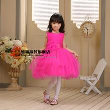 Children s clothing spring one piece girl formal wedding child princess performance dress