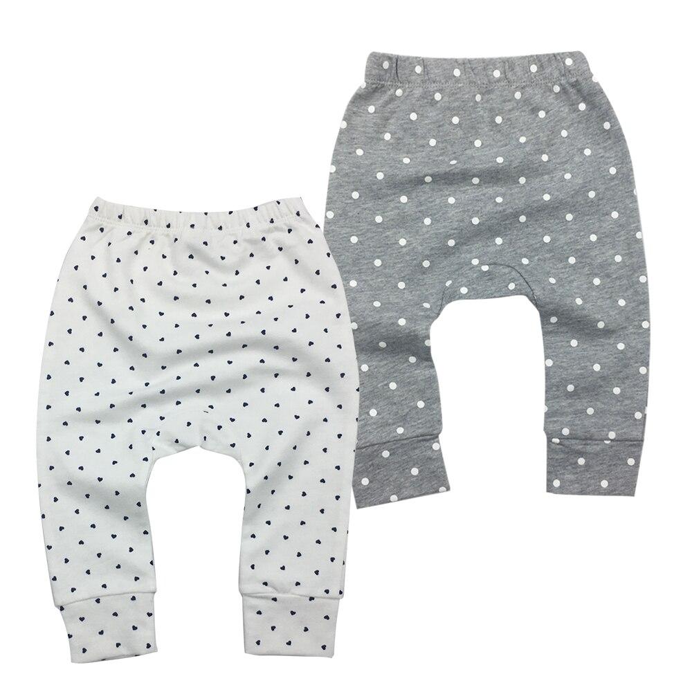 Baby Pants Soft Casual Elastic Waist Infantil Toddler Boys Girls Trousers Cotton Cute PP Pants Cartoon Animal Harem Pants 6M-24M
