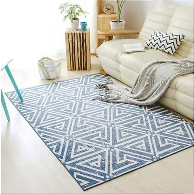 Turkey Style Design Chenille Velvet Soft Modern Large Carpets For Living Room Bedroom Kid Rugs