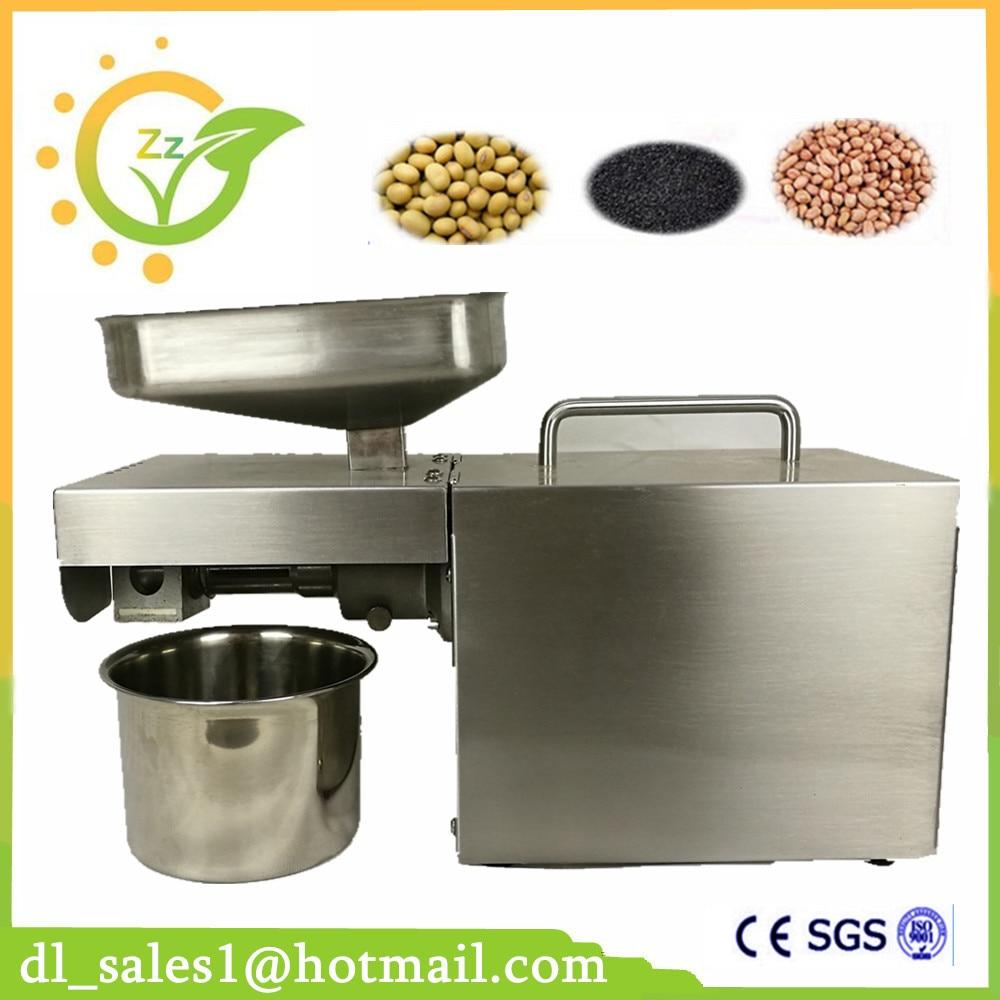 Automatic Home Oil press machine for sale Peanut sesame corn Nut Almond Coconut seed oil press machine