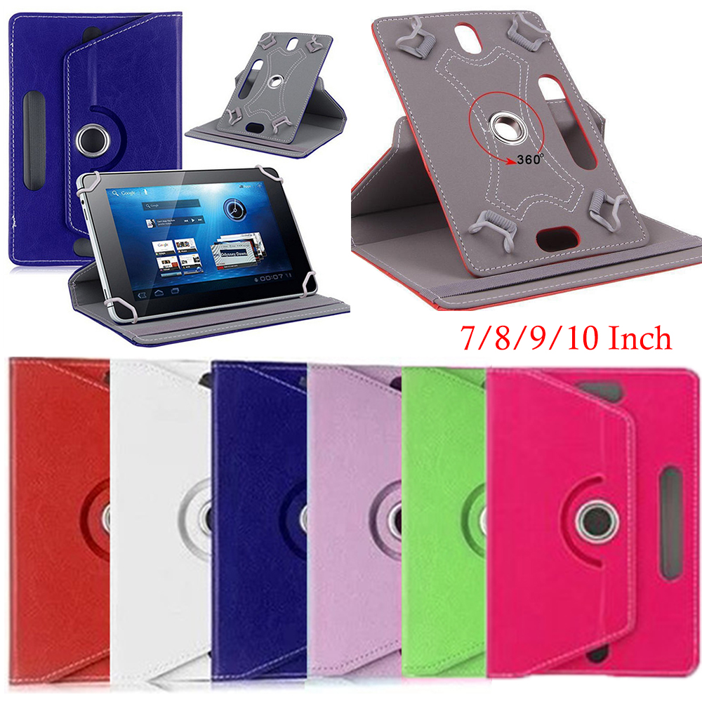 10 Inches 360 Degrees Rotation Case Cover For Universal Tablet Tablet PC Case Cover Leather Protector Universal Sleeve Durable 360 degrees