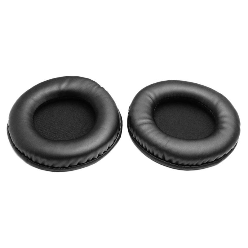 1 Pair <font><b>95mm</b></font> Universal <font><b>Replacement</b></font> Headphone Cushion PU Soft Foam <font><b>Ear</b></font> <font><b>Pads</b></font> Made of high quality protein leather durable image