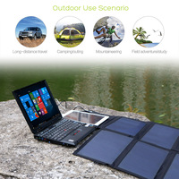 Solar Power Bank 40W for iPhone iPad Macbook Acer Samsung HTC LG Hp ASUS Dell Phone/Table/Laptop/Power Station