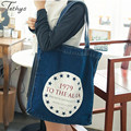 2017 fishion women bag high quality canvas shoulder bag female Large-capacity messenger bags ladies letter totes sacs a main