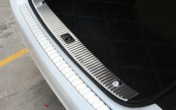 Inner Rear Bumper Protector Sill Trim For Mercedes Benz E Class W212 4DR 10-15