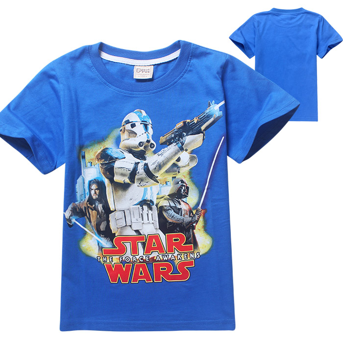 star wars shirt kids Orange