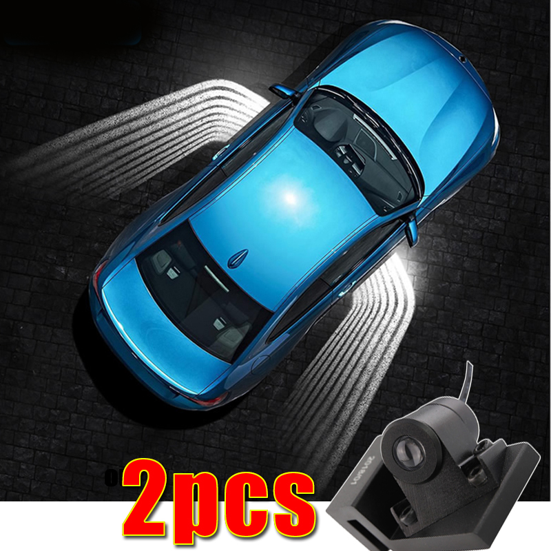 car angel wing led Universal Welcome lamp ground light for MG All Models MG ZS GT MG5 MG6 MG7 MG3 ZS mgtf geely emgrand ec7 цена